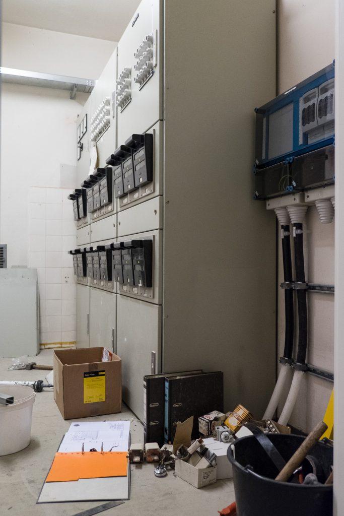 Erneuerung der bauzeitlichen Verteilertechnik am Standort Stadtmitte